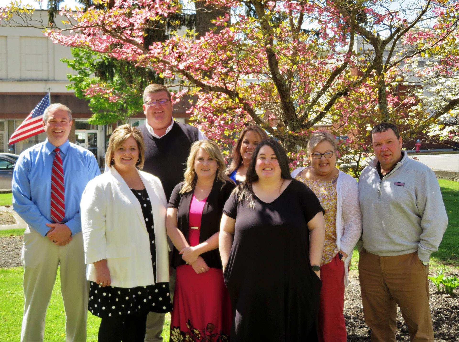 Slemp, Brant, Saunders insurance agency team